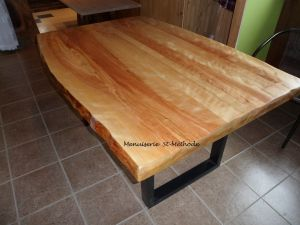 table en merisier naturel